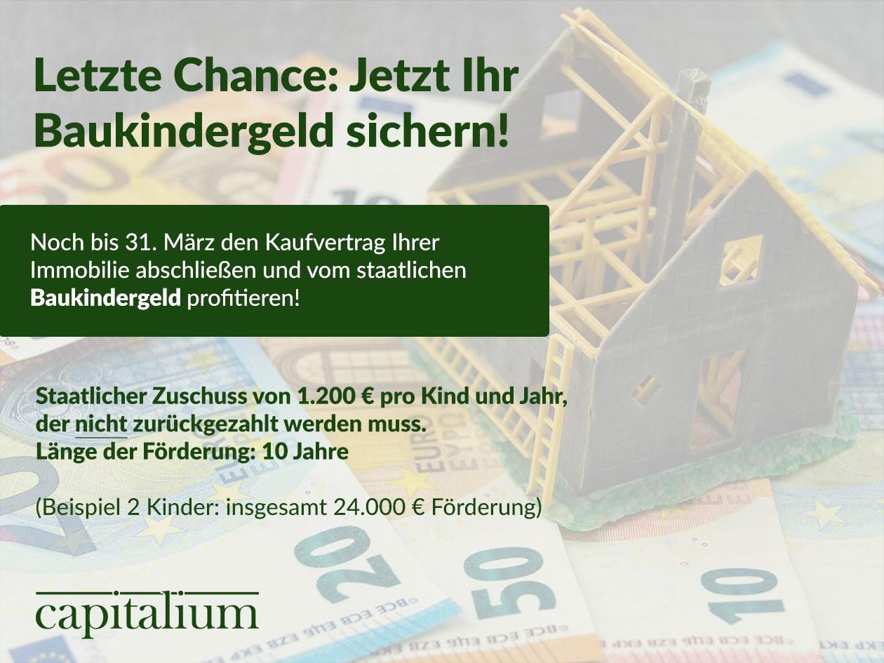 Baukindergeld staatlicher Zuschuss Foerderung Kindergeld Hausbau Hamburg Hauskauf Immobilienkauf Capitalium Matthias Drews