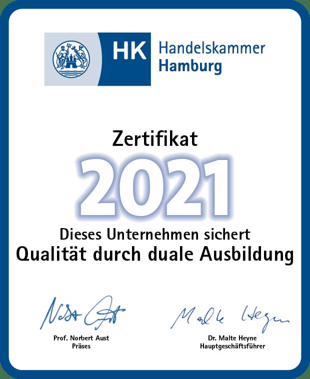 Zertifikat Capitalium Baufinanzierung Immobilienprojekte Finanzberater Hamburg duale Ausbildung 2021